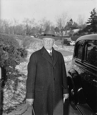 James Clark McReynolds - Justice McReynolds, February 3, 1940.