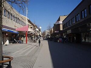 Köping, Sweden - Stora Gatan in Köping