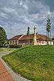 Kříž před bývalou školou, Valchov, okres Blansko.jpg