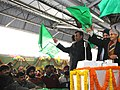K.H. Muniyappa, the Chief Minister of Delhi, Smt. Sheila Dikshit and the Chairman, Railway Board.jpg
