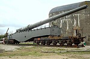 Krupp K5 - Image: K5 Audinghen