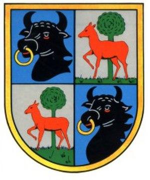 Kampfgeschwader 1 - The Hindenburg family crest, the emblem of KG 1