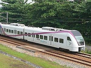 Express Rail Link - Image: KLI Aekspres Salak Selatan