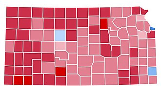 1988 United States presidential election in Kansas - Image: KS1988