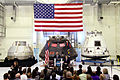 KSC speech with Orion - Dragon - CST-100.jpg