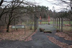 """Stadtallendorf - Memorial of the camp """"KZ-Außenlager Münchmühle"""""""