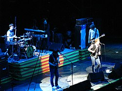 Kaiser Chiefs on stage.jpg