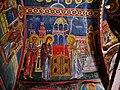 Kakopetria Kirche Agios Nikolaos tis Stegis Innen Gewölbe 08.jpg