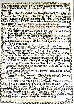 Kalender 1724 3 Jahrzählung