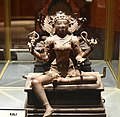 Kali, Chola period bronze, 10th century, Government Museum, Chennai.jpg