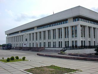 Kaluga Oblast - Kaluga Oblast Government building