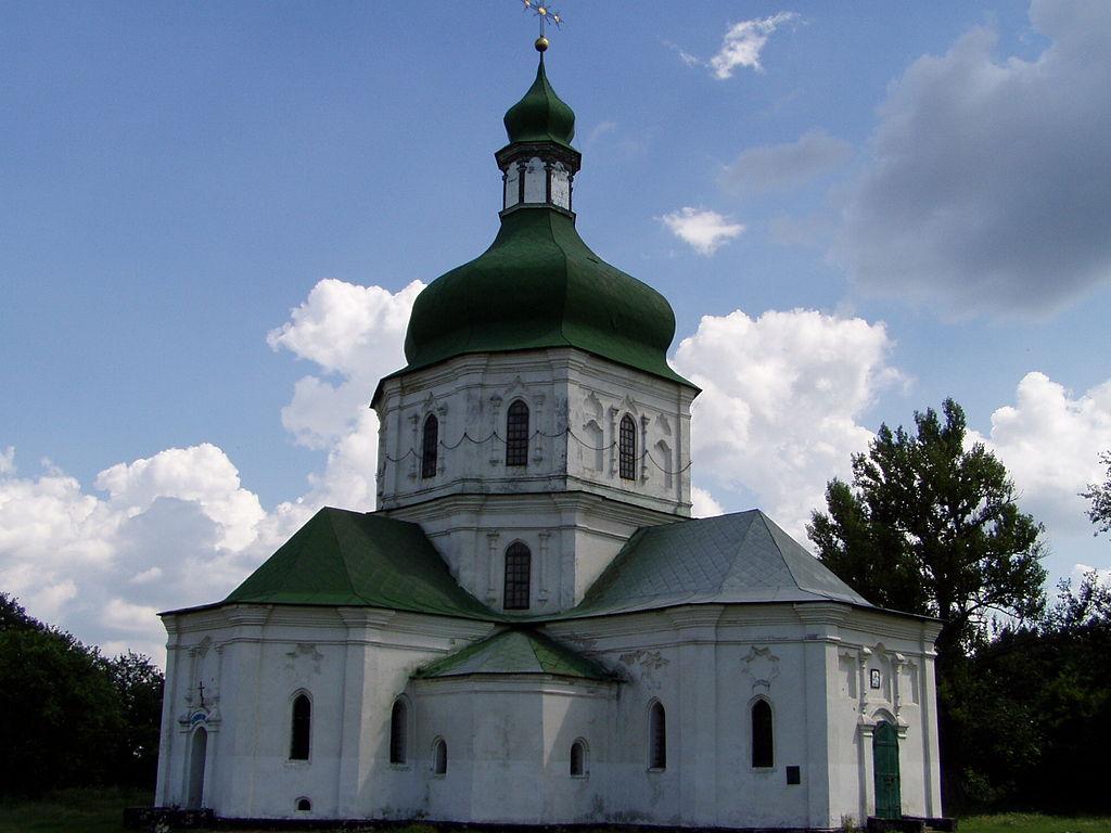 Церковь-усыпальница Лизогубов в Седневе (1690)