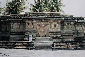 Vishnuvardhana - Kappe Chennigaraya temple built by queen Shantala Devi