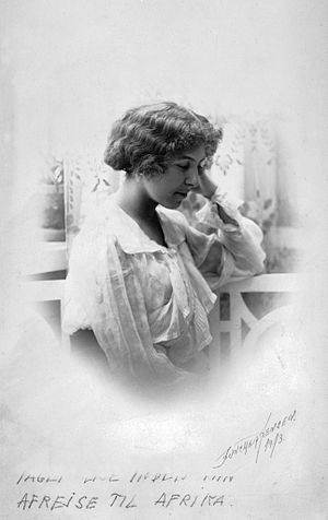 Denys Finch Hatton - Karen Blixen in 1913