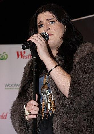 Karise Eden - Eden performing live at Westfield Sydney, Australia on 29 June 2012.