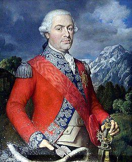 Karl Josef von Bachmann Swiss aristocrat and soldier