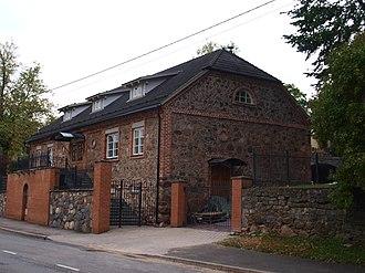 Karlova, Tartu - Image: Karlova mõisa ait 1