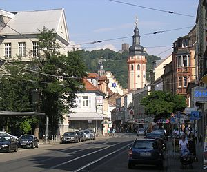 Durlach - Center with Turmberg