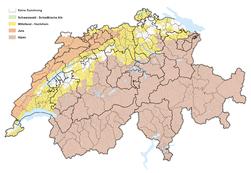 Karte Berggebietsregionen der Schweiz 2016.png