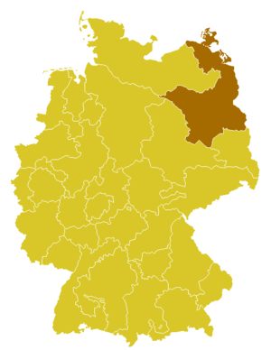 Roman Catholic Archdiocese of Berlin - Image: Karte Erzbistum Berlin
