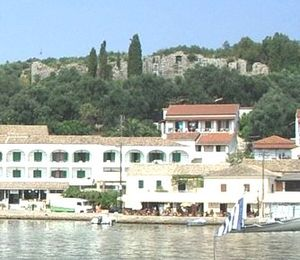 Kassiopi Castle - Kassiopi Castle as viewed from the port of Kassiopi