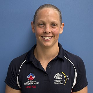 Kate Gynther Australian water polo player