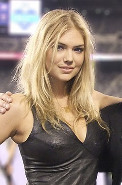 Kate Upton at the 2011 Jets VIP draft party (crop).jpg