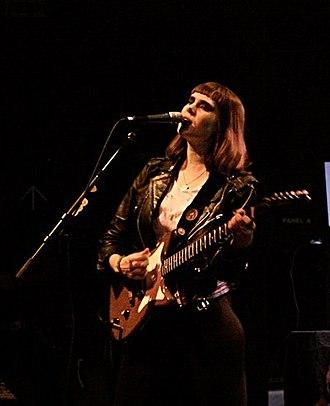 Kate Nash - Nash performing in 2010