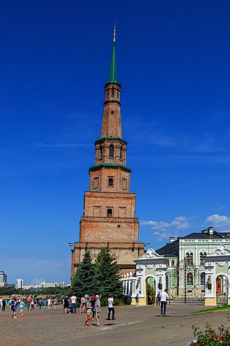 Khanate of Kazan - The Söyembikä Tower in Kazan possibly displays some features of medieval Kazan architecture.