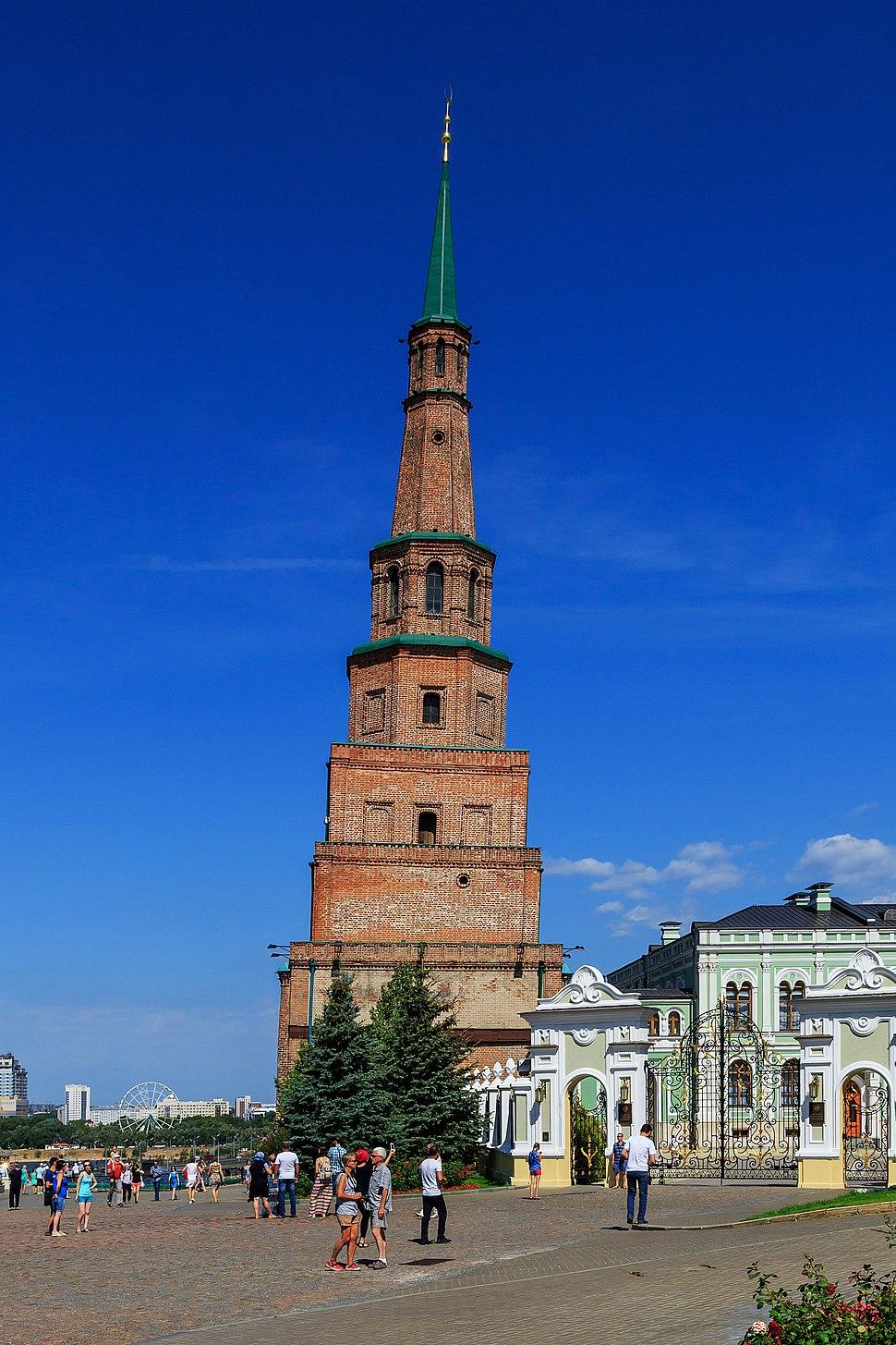 Kazan Kremlin Soyembika Tower 08-2016 img1