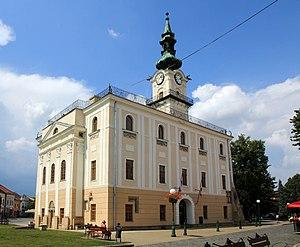 Kežmarok - Image: Kežmarok Town hall 2015 1