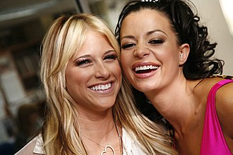 Candice Michelle - Michelle and Barbie Blank in 2008