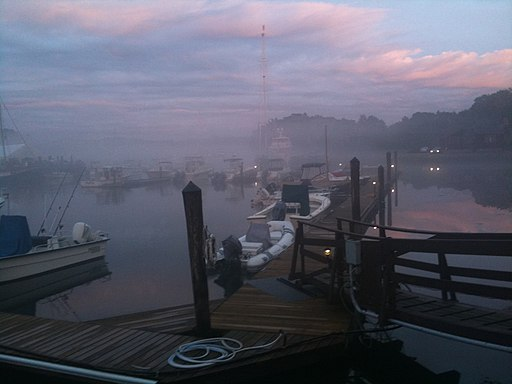 Kennebunk River, Fog