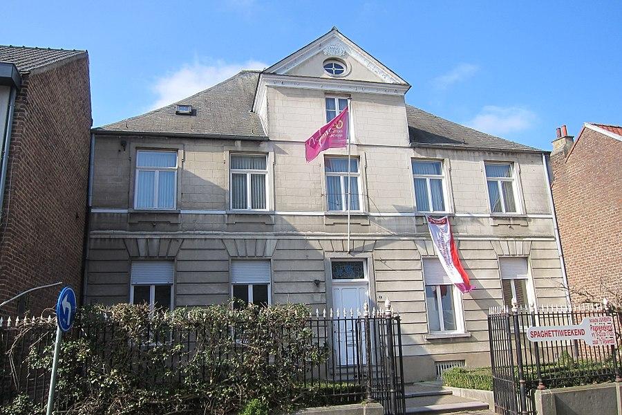 Dekenij, dubbelhuis, Kerkstraat 9, Merchtem