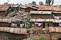 Kibera Nairobi Kenya slums shanty town October 2008.jpg
