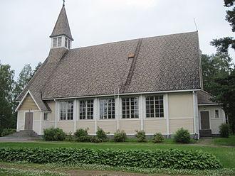 Kihniö - Image: Kihniö kirkko 2012