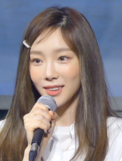 Kim Tae-yeon at Beanpole X Monthly Yoon Jong Shin 2019 Press Conference in March 2019 (3).png