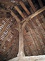 King Post inside roof of Bayleaf House - geograph.org.uk - 1259710.jpg