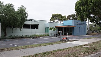 Cheltenham, Victoria -  City of Kingston Library service, Cheltenham.