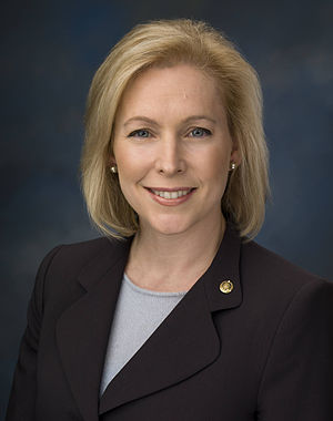 English: Kirsten Gillibrand, New York's junior...