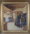 Kitchen, with the artist's Wife (Viggo Johansen) - Nationalmuseum - 19749.tif