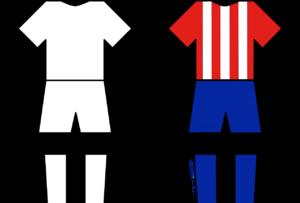 Madrid Derby - Teams home kit