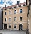 Klagenfurt Innere Stadt Benediktinerplatz 10 ehem. Jesuitenkolleg S-Trakt 09092015 7248.jpg