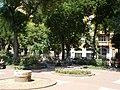 Klauzál Square's Park. Flower bed. - Budapest District VII. Klauzál Square.JPG