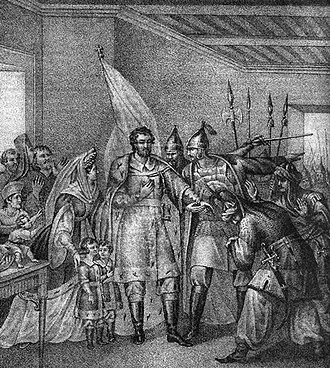 Muscovite Civil War - The Muscovite boyars pledge their support to the dethroned Vasily II