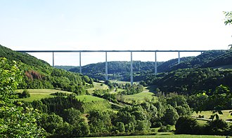 Bundesautobahn 6 - Kochertalbrücke