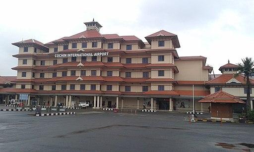 Kochi international airport, Nedumbassery
