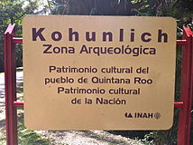Kohunlich sign.JPG