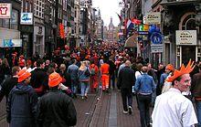 Festa della Regina ad Amsterdam, 2005