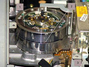 1a1df09ae8c9 Panasonic Hi-Fi 6-head drum VEH0548 installed on G mechanism as an example